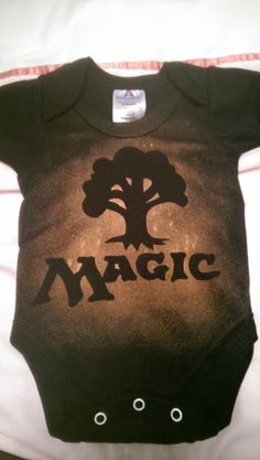 Mtg Magic The Gathering Inspired Velcro Baby Bib Pro Tour