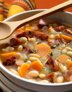LOW CARB SLOW COOKED BEAN SOUP