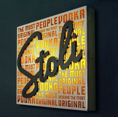 Stoli - Illuminated sign