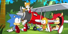 Schaut euch nun die gesamte Sonic Mania Adventures-Miniserie am Stück an Dark Sonic, Sonic And Amy, Sonic Fan Art, Sonic The Hedgehog, Video Game Drawings, Sonic Videos, Advent, Shadow Wolf, Classic Sonic