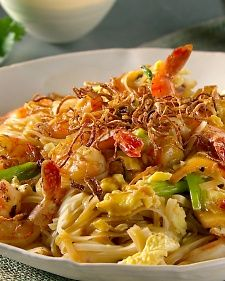 Shrimp Pad Thai Recipe   Martha Stewart. I have to agree with Martha. Fried shallots or sweet onion are a must!