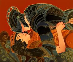 The Old Fairytales are what Cress claims to be must reads when you have indefinite time on your hands. The tale of Sleeping Beauty is one of her favorites.(Adorable Stylish Illustrations by Jennifer Hom)