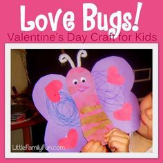 Cute Valentines Day craft for kids! ♥