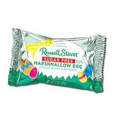 Walgreens/Russell Stover, $.66. 1 oz. Sugar Free Marshmallow Egg