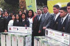Barrick Zaldívar entregó contenedores para desechos en Campaña de Reciclaje Electrónico http://www.revistatecnicosmineros.com/noticias/barrick-zaldivar-entrego-contenedores-para-desechos-en-campana-de-reciclaje-electronico