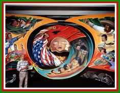 Murals at Denver International Airport | Da New Sees World Report via Daniyel: Enigmatic Murals: The Illuminati ...