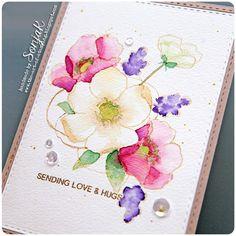 SonjaK - The Art of Stamping: Sending Love & Hugs