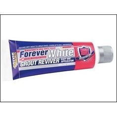 Everbuild Forever White Grout Reviver with Mould Shield - Arctic White - 200 ml Material For Sale, Adhesive Tiles, Shopping World, Grout, Home Reno, Diy Cleaning Products, Building Materials, Whitening, Home Improvement
