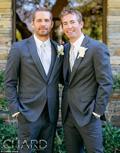 Heartbreaking Photos of Paul Walker at Brother's Recent Wedding