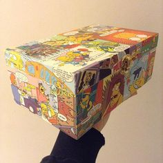 Custom handmade Simpsons stash box by bitchnug on Etsy