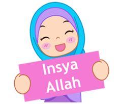 Fatima : Diary of Hijabers – LINE stickers Cute Emoji Wallpaper, Cute Cartoon Wallpapers, Flower Wallpaper, Eid Mubarak Animation, Anime Muslim, Muslim Hijab, Muslim Greeting, Islamic Posters, Islamic Quotes