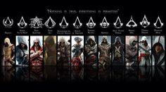 ¿Cuál es el Assassin que más te gusta de toda la saga de Assassin's Creed?