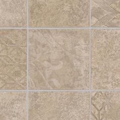TrafficMASTER Marbella Tile Neutral 13.2 ft. Wide x Your Choice Length Residential Vinyl Sheet Flooring C9520197K532P15 at The Home Depot - Mobile