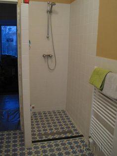 Cementtiles bathroom - Azule 06 - Project van Designtegels.nl