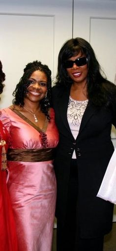 Yolanda and Donna Summer at Youth Life Benefit Gala