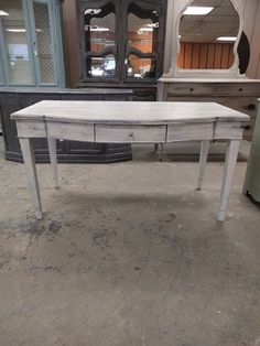 "Here is a desk that has a nice big surface on it. I need that because half of my desk is full o junk! LOL What do you think?  The dimensions are 56"" L, 30"" W, 30"" H. SOLD!! for $275"