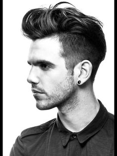 Sharp mens cut
