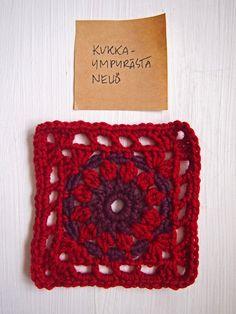 Mulla on kalenteri,   johon kirjoitan käsin.   Ja muistikirja, johon piirrän.   Siis kaksi muistikirjaa.     Lisäksi tarvitsen   ... Crochet Jacket Pattern, Crochet Coat, Crochet Patterns, Crochet Squares, Crochet Granny, Free Crochet, Diy Crafts Crochet, Boho, Lana