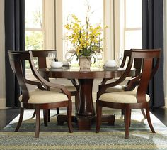 Round Pedestal Dining Table Sets
