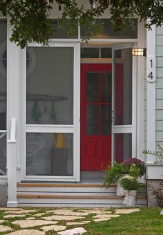 Red Paint Color: Gladiola SW 6875 Sherwin Williams.