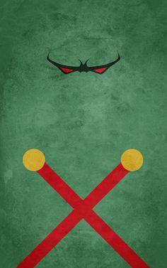 """Minimalist poster: 'Martian Manhunter' (Justice League - Martian Manhunter) """"Martian Manhunter by thelincdesign.deviantart.com on @deviantART"""""""