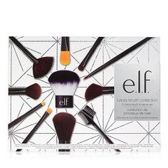 Shop e. Cosmetics for professional quality makeup brush sets! Our affordable makeup brush kits help you achieve the looks you love for less. My Beauty, Beauty Makeup, Beauty Hacks, Beauty Tips, Makeup Gift Sets, Makeup Brush Set, Elf Products, Makeup Products, Beauty Products
