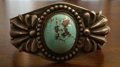Jahrgang Ureinwohner Persischer Türkis Manschette Armband