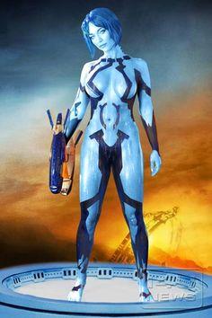 Cortana cosplay hot