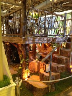 Cool tree house design at Arch Digest Home Design Show