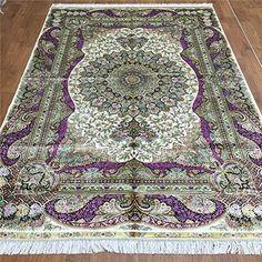 Camel Carpet Beige Silk Hand Knotted Home Rug 5.5'x8' Cam... http://www.amazon.com/dp/B01EWNZP6O/ref=cm_sw_r_pi_dp_A9ukxb1BQ8N85