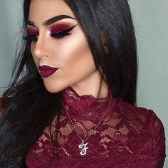 "7,493 curtidas, 63 comentários - F R A N C E S C A (@littledustmua) no Instagram: ""✨VELVET✨ Eyeshadows from @makeupgeekcosmetics #makeupgeekcosmetics ❤️️I used @tartecosmetics…"""