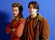 """⚡️River Phoenix as Mikey Waters and Keanu Reeves as Scott Favors in """"My Own Private Idaho"""" River Phoenix Keanu Reeves, Keanu Reeves Quotes, My Own Private Idaho, Keanu Charles Reeves, River I, Cute Actors, Best Couple, Celebs, Celebrities"""
