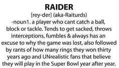 10 Raiders Jokes Images Raiders Football Funny Football Memes