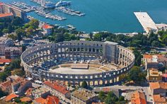 Pula Arena: a Monument of Roman Architecture, Croatia Pula, Canada Tours, Parks, Tourist Agency, Sailing Holidays, Roman Architecture, Hotels, Croatia Travel, Architecture