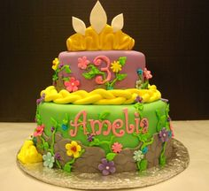 Amelia's Tangled Cake.