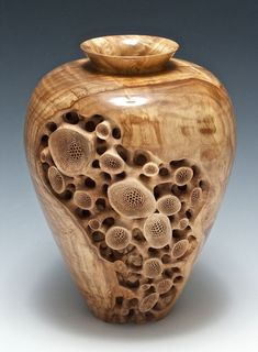 wood #Carving By Bob King