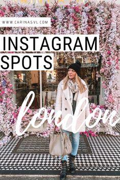Die besten Foto Spots für deine Städtereise nach London! Schöne Cafés mit Blumendeko für deinen Instagram Feed.
