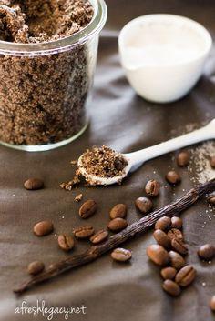 Lemongrass Coffee Body Scrub Recipe