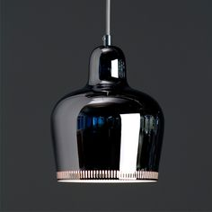 One of my favorite Alvar Aalto designs, pendant lamp A330S from 1937.