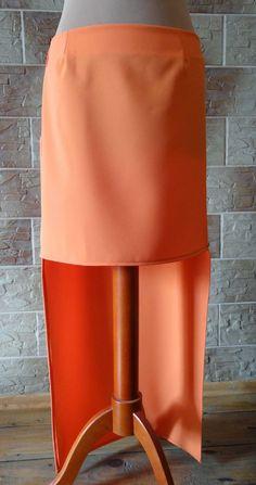 Lady at home DIY Blog: DIY asymetryczna spódnica DIY Asymetrical skirt