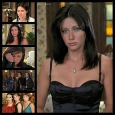 charmed Prudence « Prue » Halliwell - Bing Images Serie Charmed, Charmed Tv Show, Beautiful Witch, The Most Beautiful Girl, Shannen Doherty Charmed, Cinema Outfit, Alyssa Milano Charmed, Short Hair Cuts, Short Hair Styles