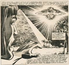 From Marvel UFO Connection comic #13, published in 1977 not long before Close Encounters Of The Third Kind was released.