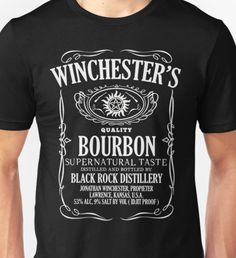 Supernatural Tasting Bourbon Tee Unisex T-Shirt Supernatural Gifts, Kansas Usa, Bourbon, Unisex, Mens Tops, T Shirt, Clothes, Bourbon Whiskey, Supreme T Shirt