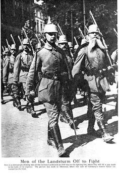 Citizen-soldiers off to war.