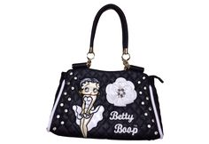 Betty Boop Quilted Satchel Bag - Purses & Wallets