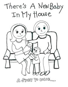 Cute little printable homebirth coloring book by North Carolina Friends of Midwives (NCFOM)