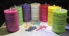 Crystal Dance Essential Oil Candles ~ Aromatherapy Candles made with Essential Oils and Crystals Essential Oil Candles, Essential Oils, Aromatherapy Candles, Candle Making, Pillar Candles, Pure Products, Crystals, Lovers, Dance