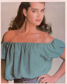 Brooke Shields by Demarchelier for McCall's Patterns, 1983.