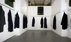 'An industrial-scale elegy' ... one of Jannis Kounellis's installations at Ambika P3. Photograph: Richard Saker