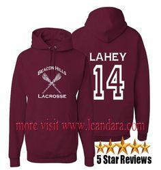 Teen Wolf Beacon Hills Lacrosse Hoodie – Lahey 14 By Staunwae